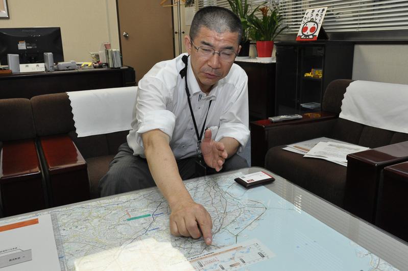 付加車線について解説していただいた横浜保全・サービスセンター 所長 森島貴代治氏