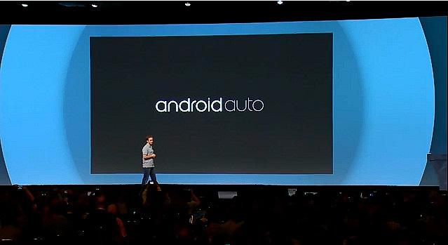 公開された「Android Auto」ロゴ