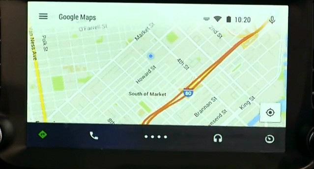 Google Mapsの機能も用意されている