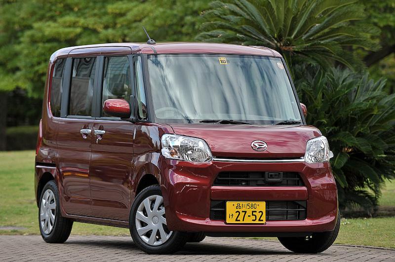 6カ月で13万5688台を販売して乗用車/軽自動車トータルで首位になった「タント」