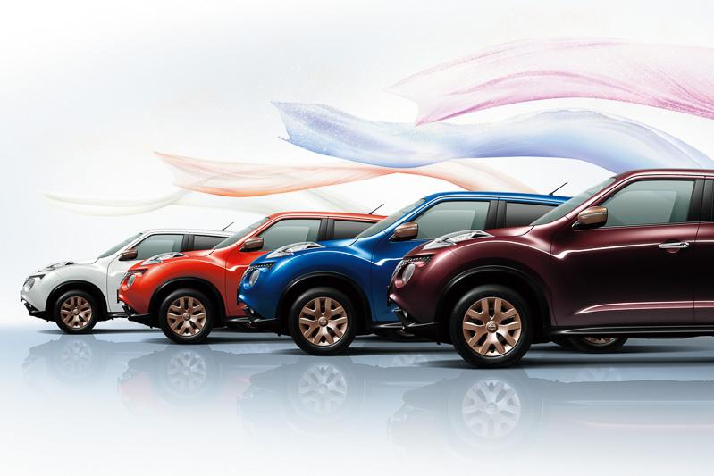 日産スポーツカーのヘリテージを感じさせる4色のボディーカラーを専用設定