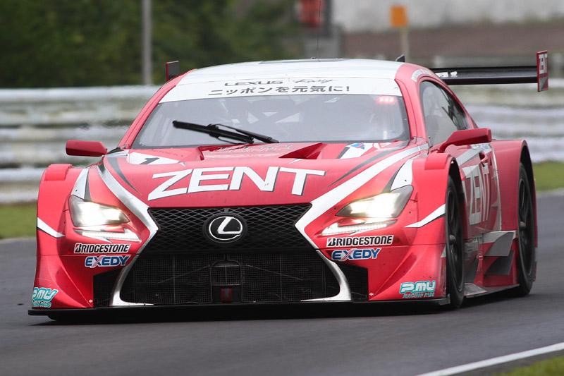 優勝した1号車 ZENT CERUMO RC F