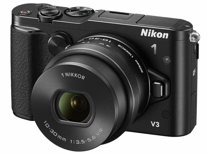 Nikon 1 V3本体と標準ズーム「1 NIKKOR VR 10-30mm f/3.5-5.6 PD-ZOOM」