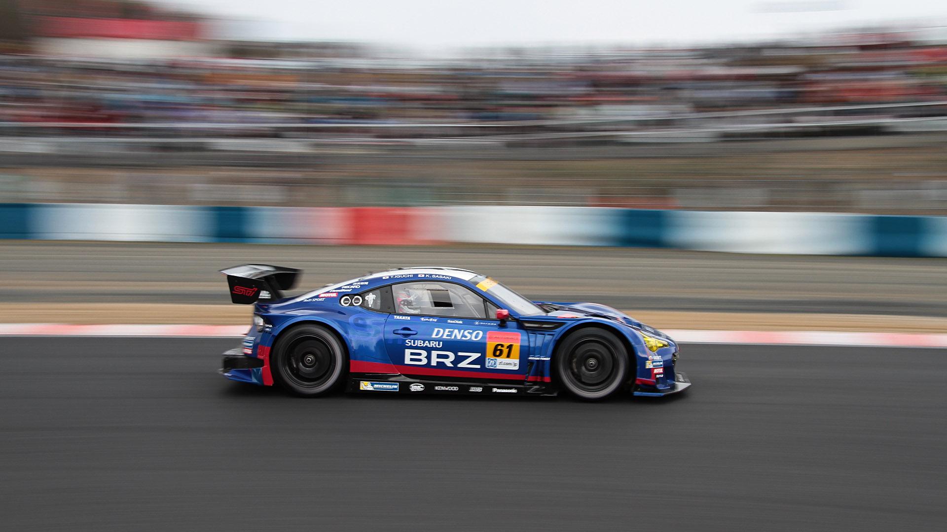 第5戦 富士で優勝したGT300クラスの61号車 SUBARU BRZ R&D SPORT