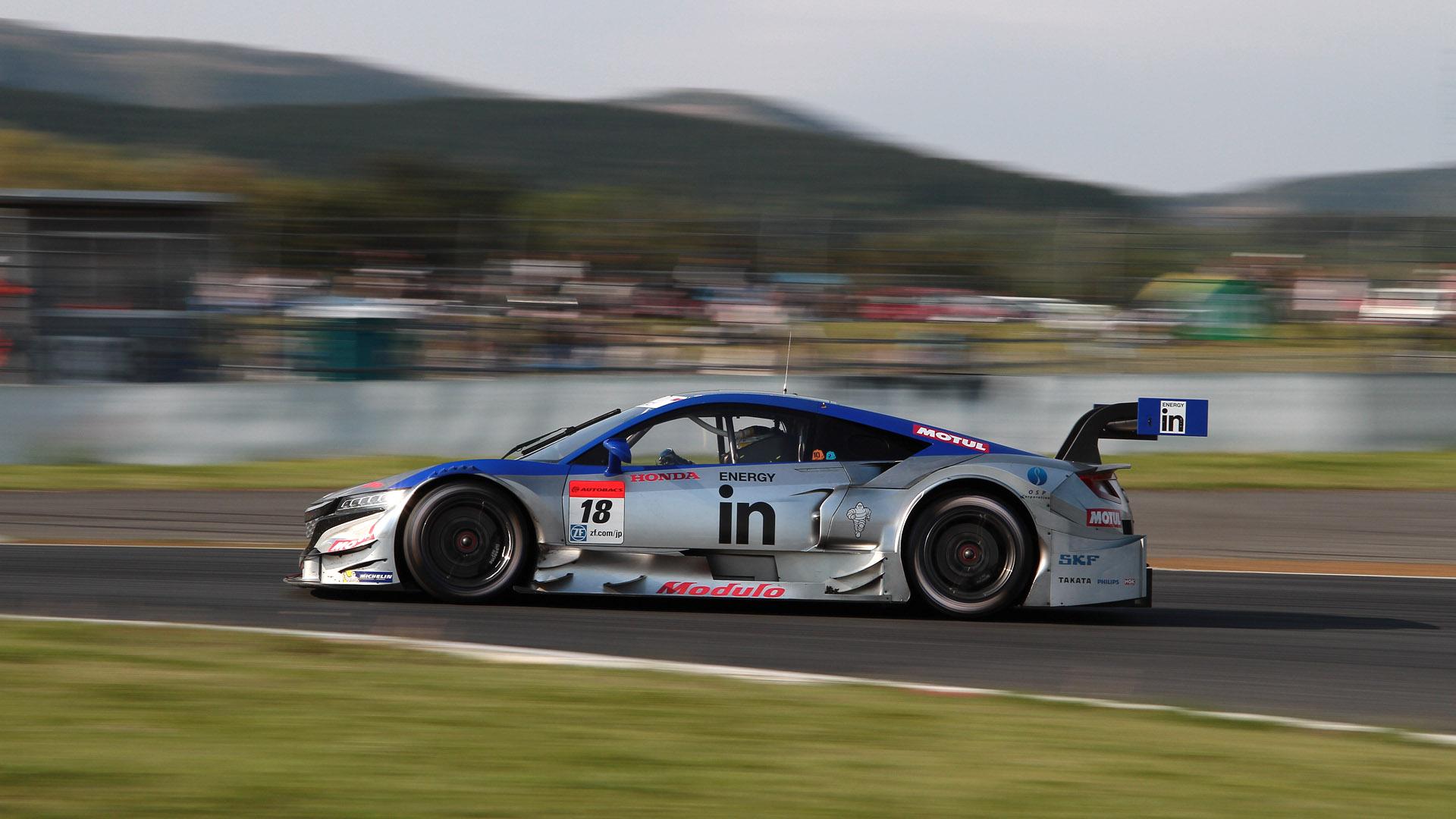 第5戦 富士で優勝した18号車 ウイダー モデューロ NSX CONCEPT-GT