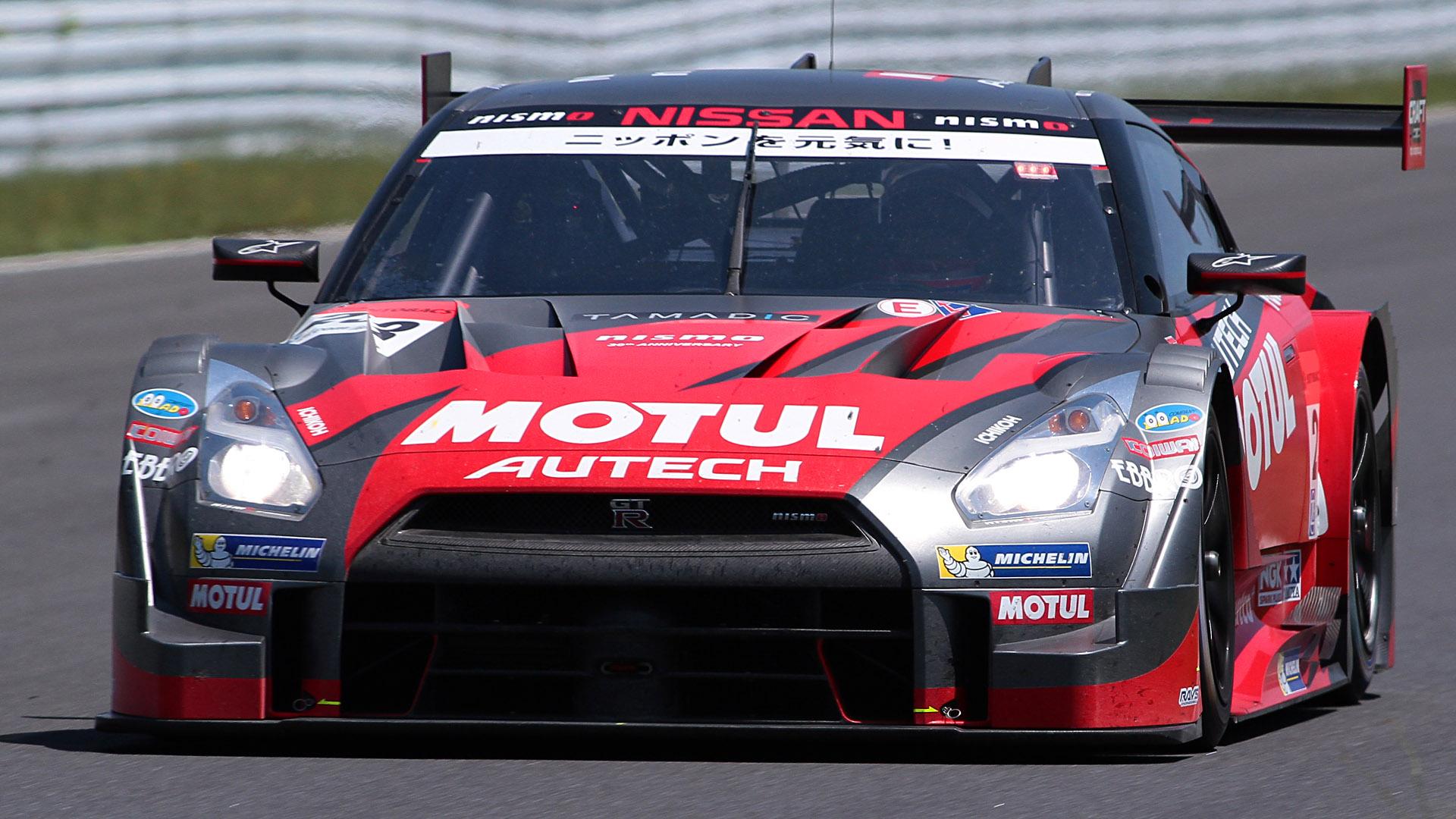 第3戦 オートポリスで優勝した23号車 MOTUL AUTECH GT-R