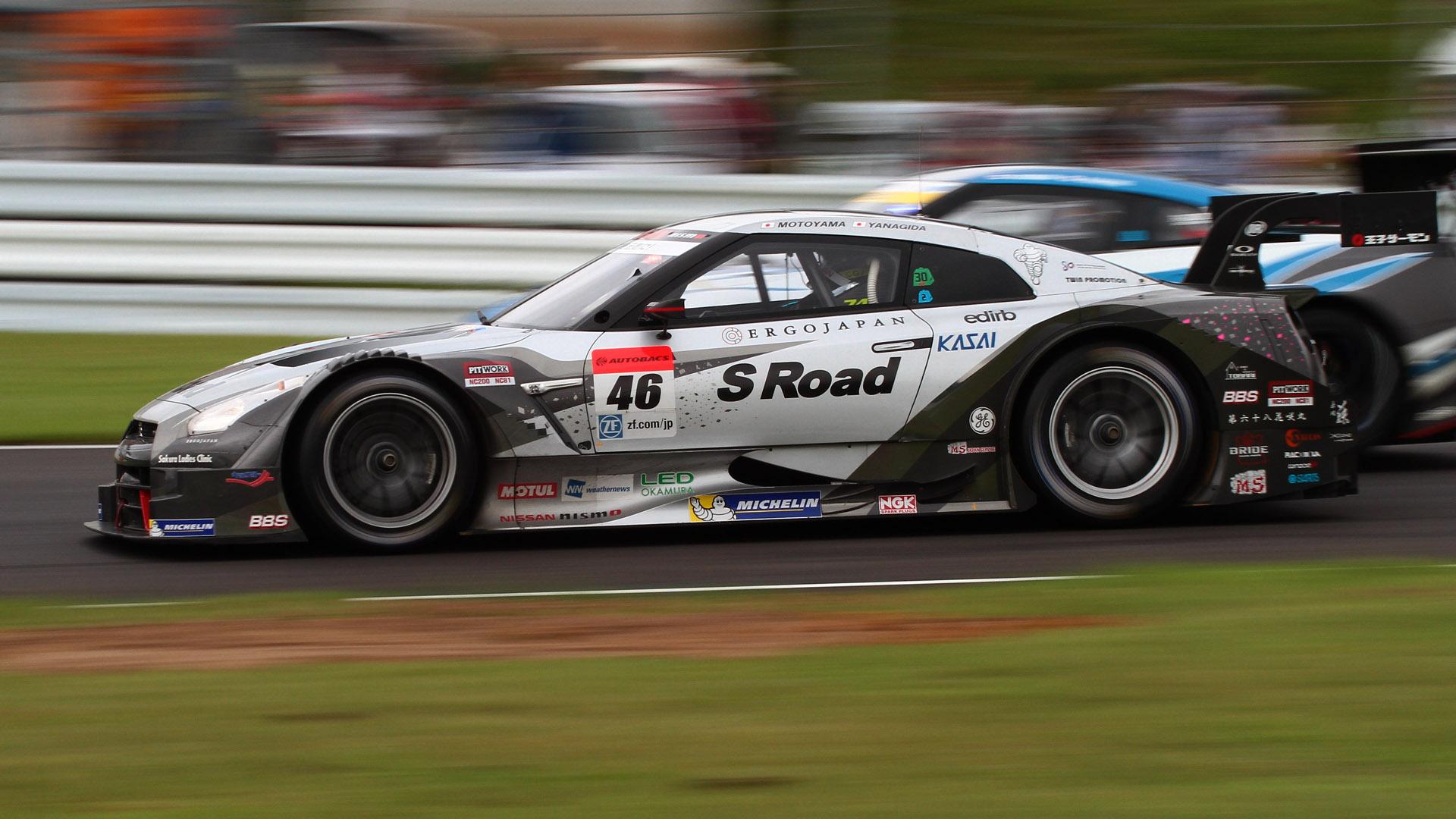 2011年、2012年にチャンピオンを獲得した46号車 S Road MOLA GT-R