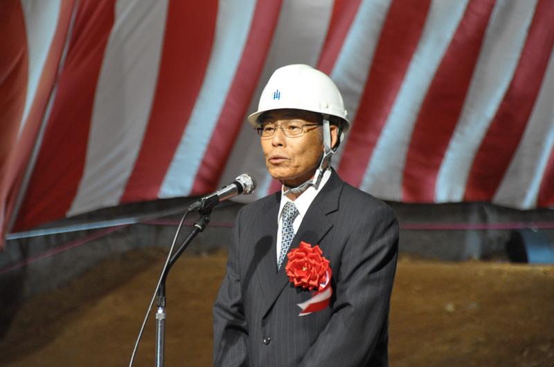 原連合自治会 会長 石田和義氏