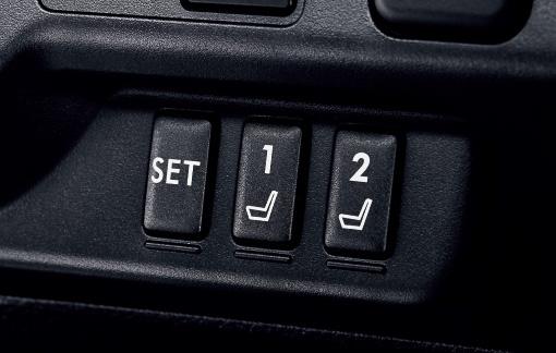 2つのアクセスキーと2つのスイッチでメモリーは4名分