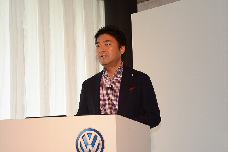 フォルクスワーゲン グループ ジャパン マーケティング本部長の正本嘉宏氏