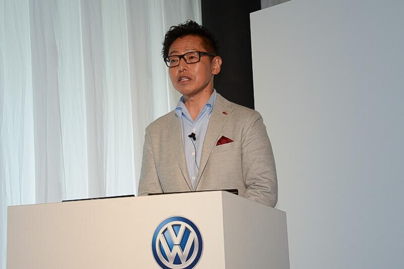 フォルクスワーゲン グループ ジャパン 代表取締役社長の庄司茂氏