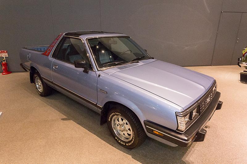 1977年から1987年まで販売された輸出専用車、スバル ブラット