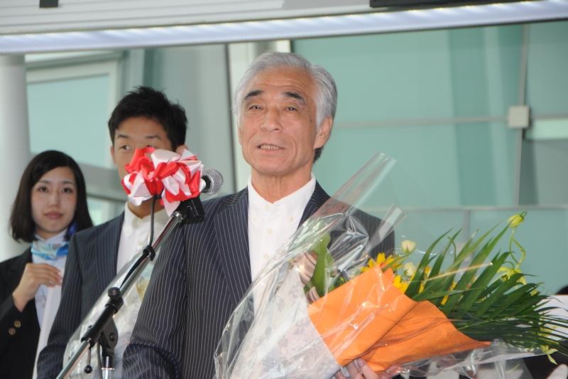 第17回アジア大会日本選手団の青木剛団長