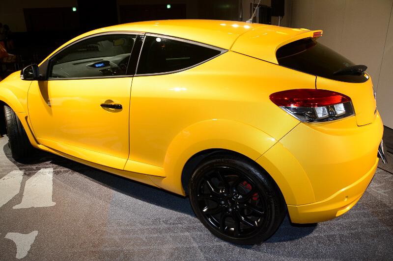 今回発表した3モデルのうち、ベース車となるメガーヌ ルノー・スポール シャシーカップ