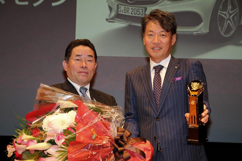 メルセデス・ベンツ日本の上野金太郎社長兼最高執行経営役員(CEO)がインポートカー・オブ・ザ・イヤーを受賞した感想を語った