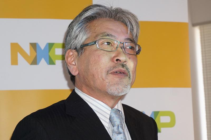 NXP セミコンダクターズ・ジャパン オートモーティブ事業部 事業部長 濱田裕之氏