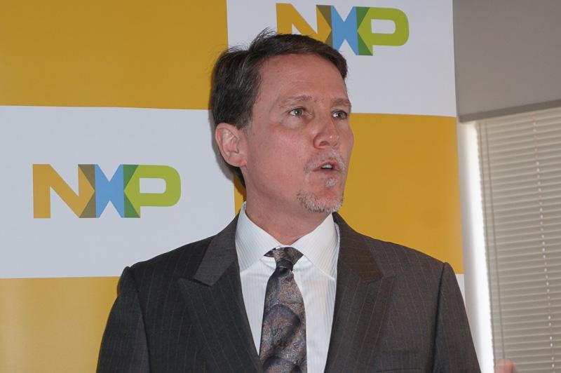 NXP Semiconductors セールス・マーケティング・オートモーティブ担当 上席副社長ドゥルー・フリーマン氏