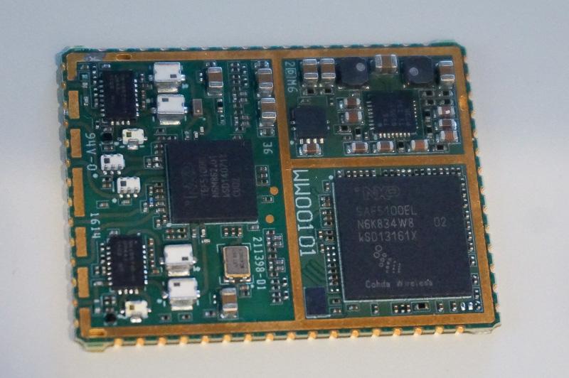 NXPの半導体が採用されているV2Xモジュール