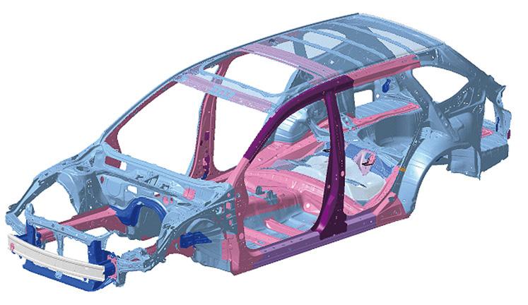 高張力鋼板を積極的に使用