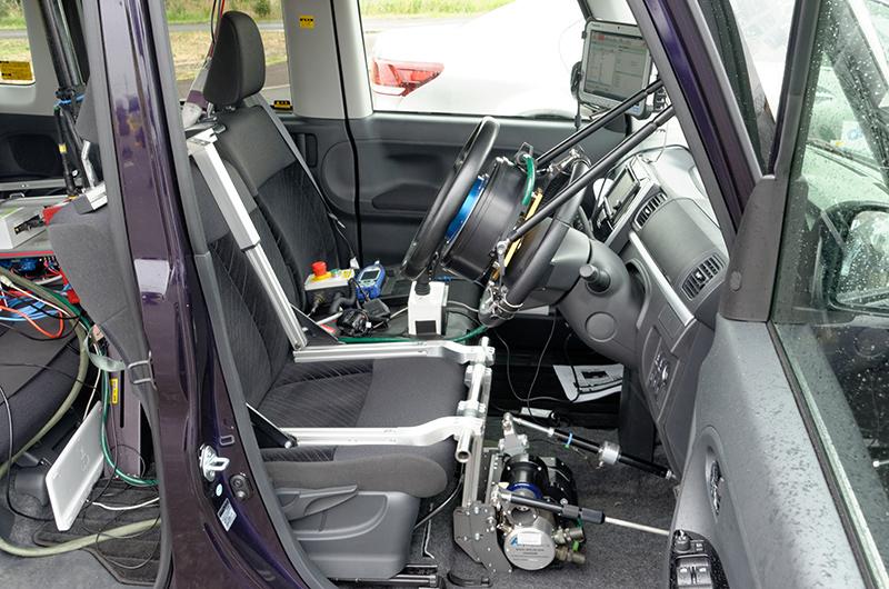 車両内部の様子
