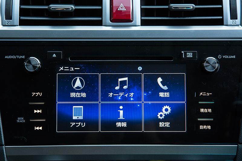 オプションのSDナビを装着するとナビ&AVだけでなく走行、燃費、メンテナンスなどの情報も表示可能になる