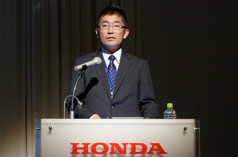 本田技術研究所 第12技術開発室 林部直樹氏