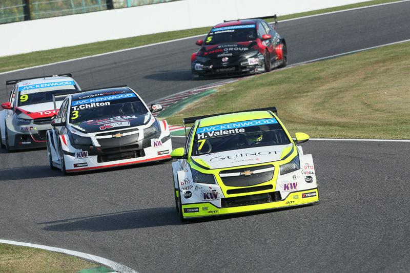 3位は7号車 ヒューゴ・バレンテ(シボレー・RML クルーズ TC1)、4位は3号車 トム・チルトン(シボレー・RML クルーズ TC1)