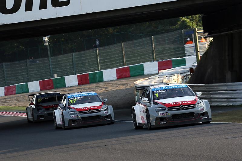 レース1優勝のシトロエン勢は5位、6位、7位