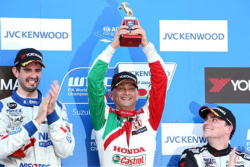 レース2で優勝したガブリエーレ・タルクィーニ