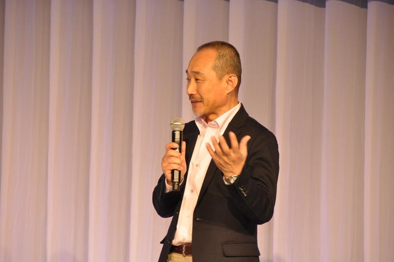 """ウェイクの開発者であるダイハツ工業 製品企画部 チーフエンジニア 中島雅之氏。レジャーのプロによる""""ダメ出しの会""""なども取りまとめた"""