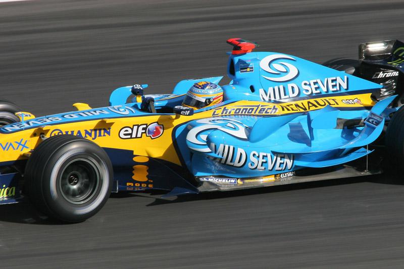 マイルドセブンも懐かしい(2006年F1日本GPにて撮影)