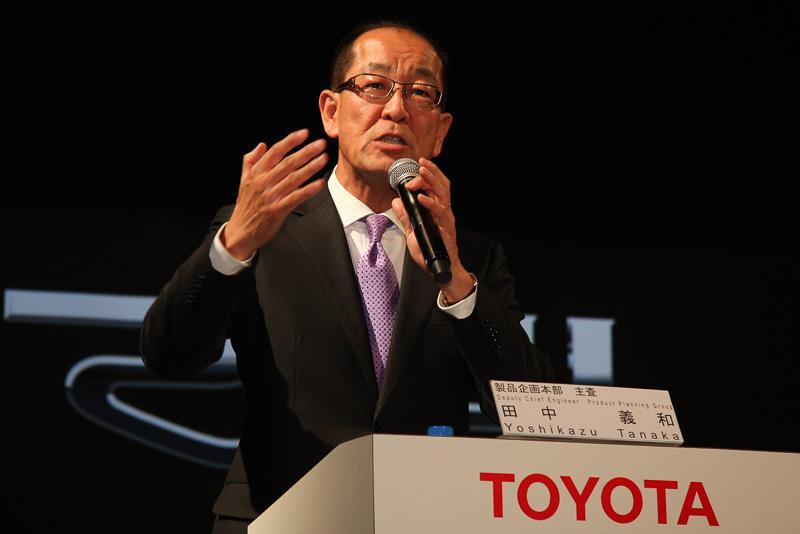 トヨタ自動車 製品企画本部 主査 田中義和氏