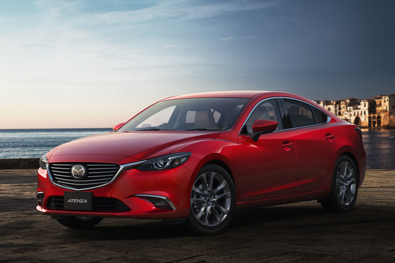 Mazda6(日本名:アテンザ)改良モデル