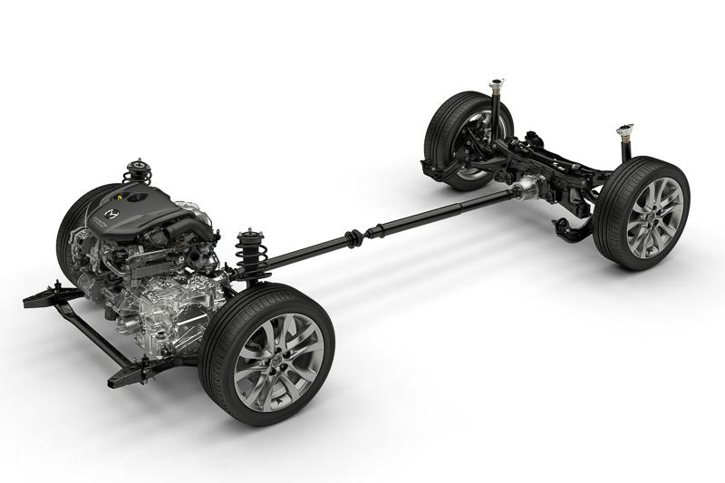 SKYACTIV-D 2.2には新世代AWDシステムが新設定された