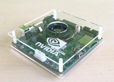 NVIDIAロゴ入りアクリル簡易ケース
