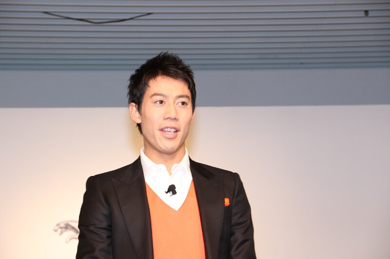 KEI NISHIKORI EDITONのセレクトについて語る錦織圭選手