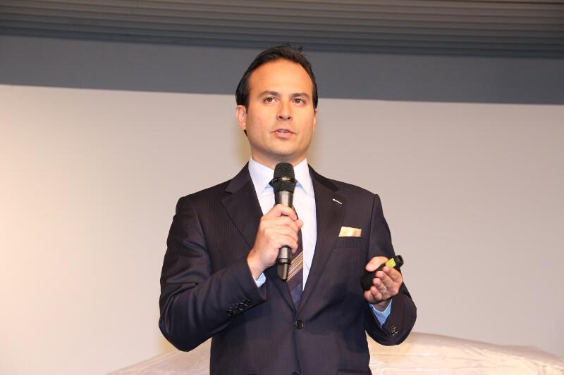 ジャガー・ランドローバー・ジャパン 代表取締役社長のマグナス・ハンソン氏