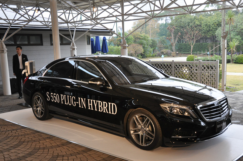 S 550 PLUG-IN HYBRID long