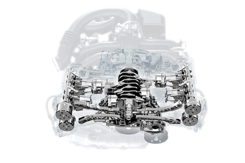 BOXERエンジンのイメージ