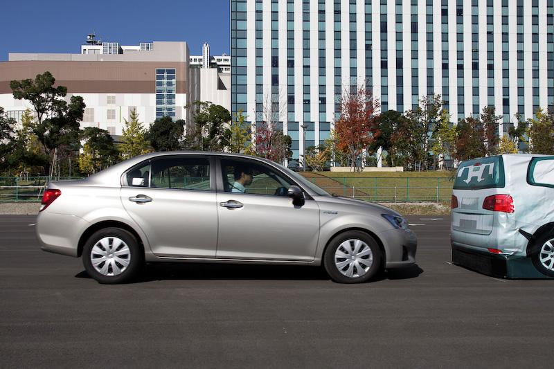 Toyota Safety Sense Cで設定する衝突回避支援型プリクラッシュセーフティ(PCS)