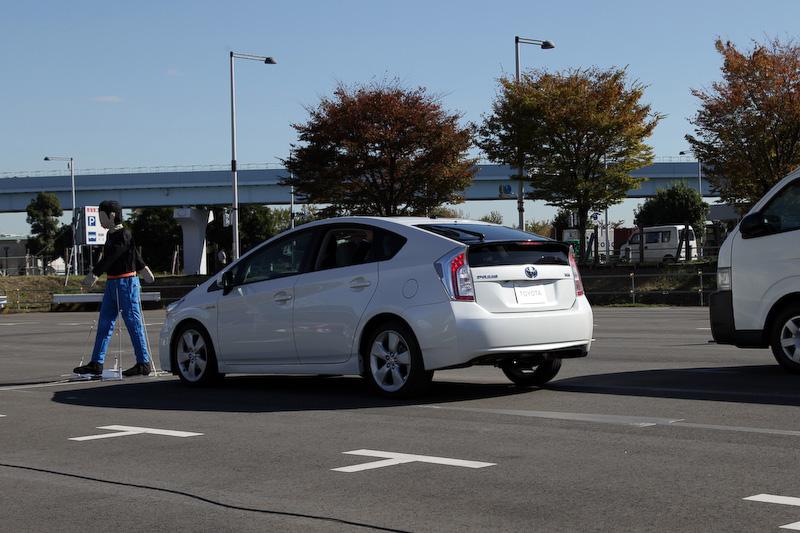 Toyota Safety Sense PではPCSに歩行者検知機能が付加される