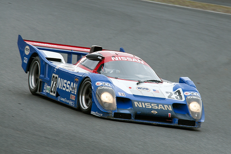 すべて自社製作となったR91CP。1992年のデイトナ24時間レースでは長谷見/星野/鈴木利男組が、日本人、日本車初の総合優勝を果たした