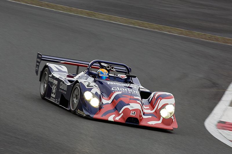 R391 LM-P仕様。1999年のル・マン24時間レースではリタイアとなったものの、同年富士で開催された1000㎞レースでは優勝を果たした