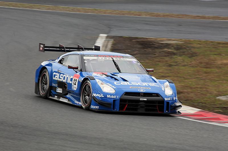 2014年のSUPER GT GT500クラスに参戦したカルソニックIMPUL GT-R