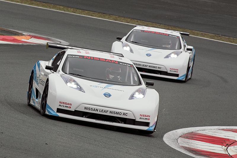 2011年にデビューしたEVレーシングカー、NISSAN LEAF NISMO RC