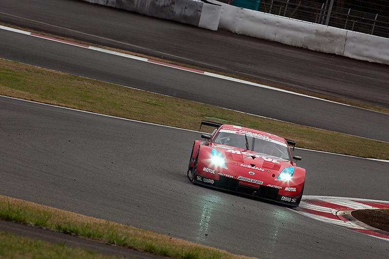 2006年のSUPER GT GT500クラスに参戦したMOTUL AUTECH Z。9戦中4戦で表彰台を獲得