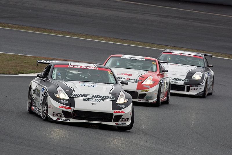 スーパー耐久シリーズに参戦中のZ33、Z34