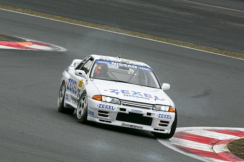 1991年のスパ24時間レースに参戦したZEXEL SKYLINE GT-R