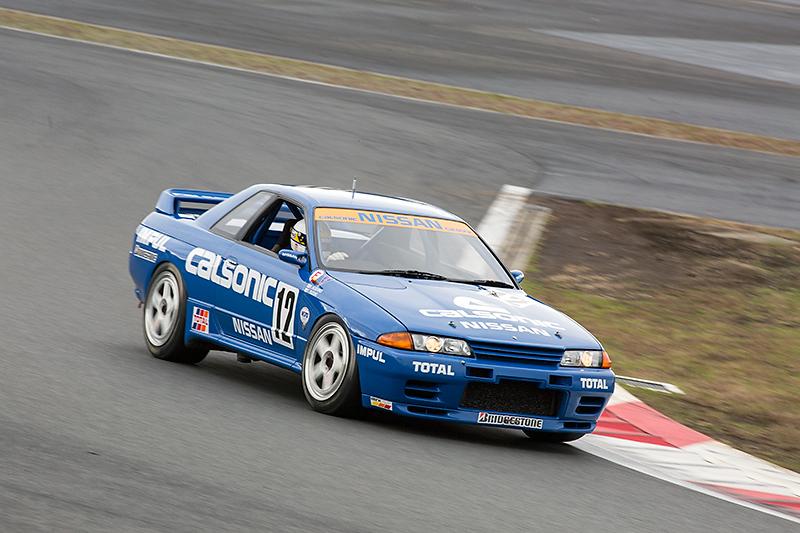 1990年に復活したR32 GT-Rは全日本選手権に参戦、1993年までの4シーズンの全29戦すべて優勝という快挙を達成。カルソニック スカイラインは1990年と1993年のチャンピオンカーだ