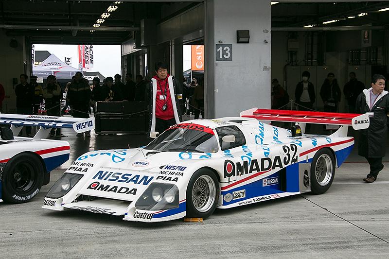 1986年に日産ワークスが初めてル・マン24時間レースに参戦した際に使用したR85V